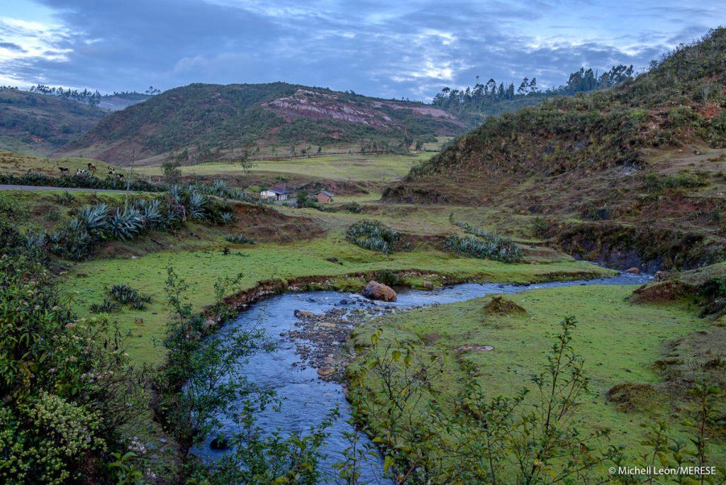 Foto proyecto fida merese río
